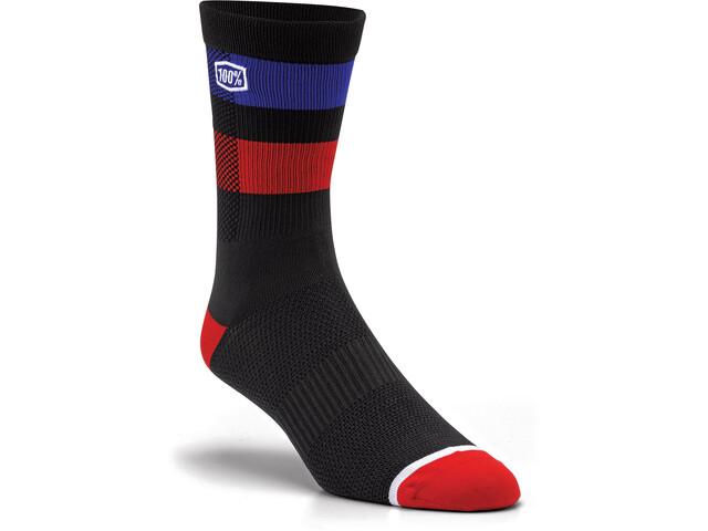 100% Flow Socken black